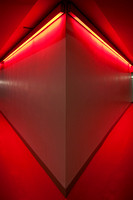 Red neon walls